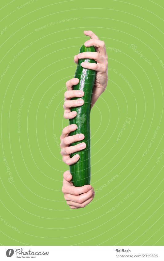 GUTE ERNTE Mensch Jugendliche Mann schön grün Junger Mann Erotik Erwachsene Leben Gesundheit Lebensmittel Garten Menschengruppe Design maskulin Ernährung