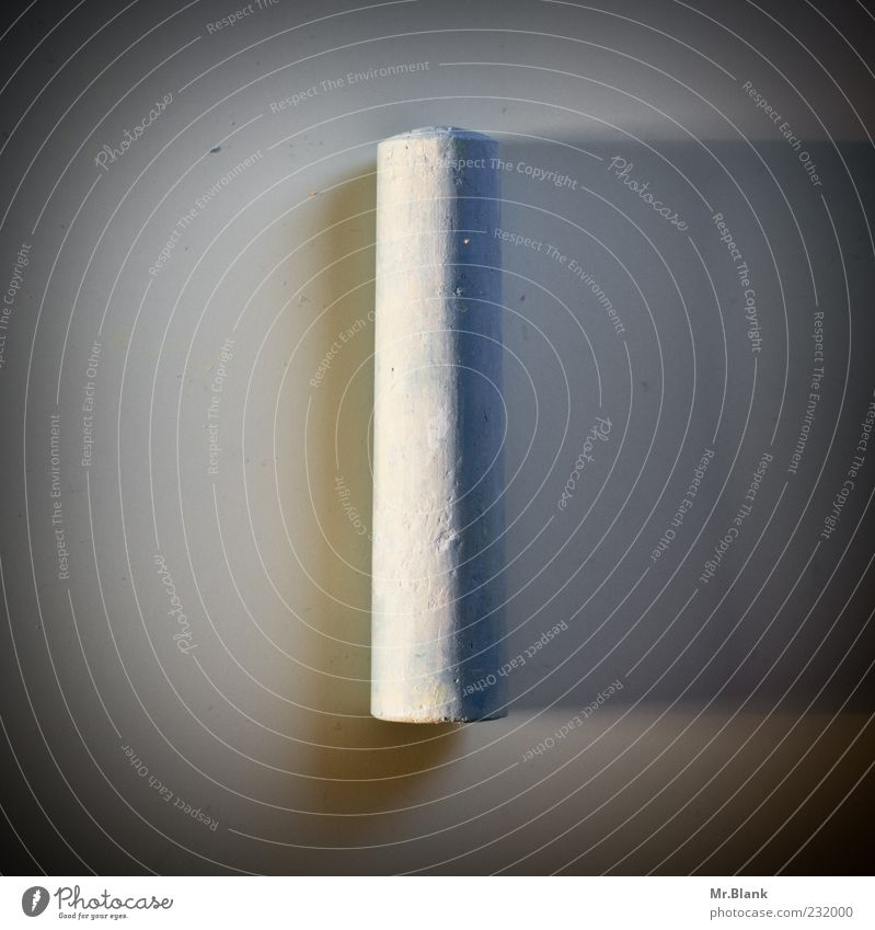 .ankreiden weiß grau Kreide Oberfläche Symmetrie eckig Zylinder