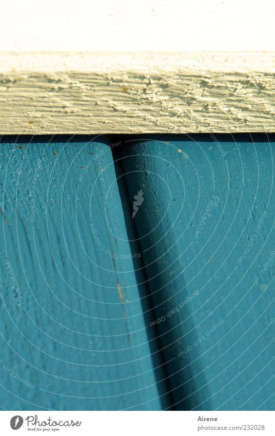 T weißblau schwarz Holz Linie Ordnung Streifen einfach eckig Anordnung