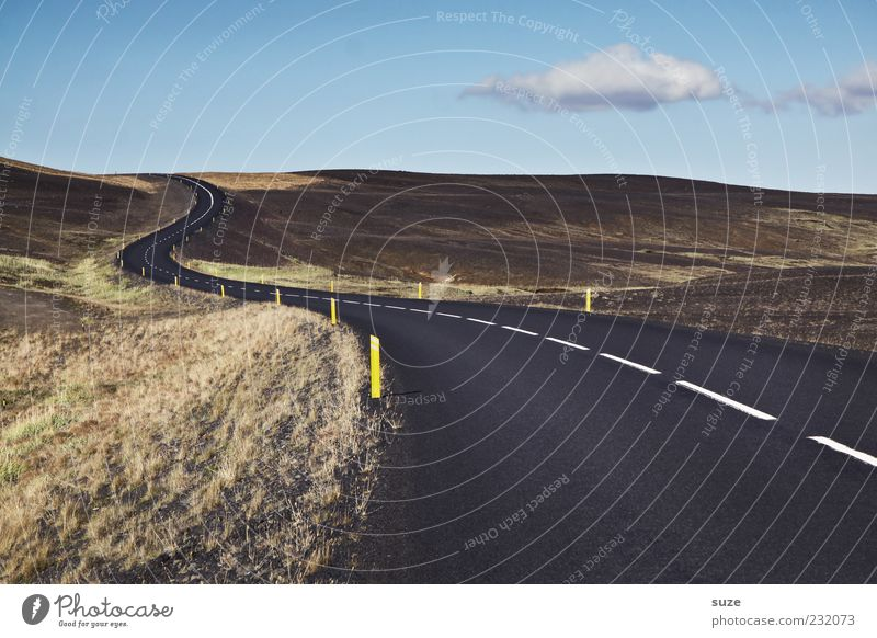 Straßenwetter Natur Ferne Straße Umwelt Landschaft Wege & Pfade Linie Verkehr Aktion bedrohlich Ziel Hügel Asphalt Verkehrswege Island Kurve