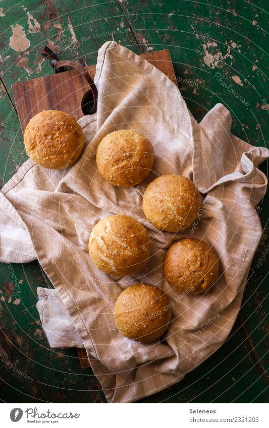 Laugenbrötchen Essen Lebensmittel Ernährung frisch Kräuter & Gewürze lecker Frühstück Brot Backwaren Abendessen Teigwaren Brötchen Salz backen Laugengebäck