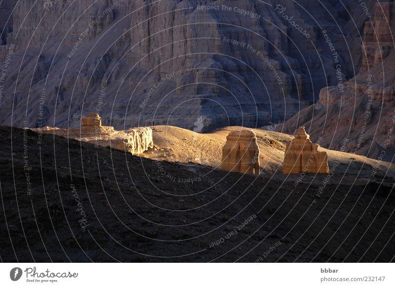 Landschaft des Erdwaldes Ferien & Urlaub & Reisen Sonne Berge u. Gebirge Umwelt Natur Sonnenaufgang Sonnenuntergang Sonnenlicht Schönes Wetter Park Hügel Felsen