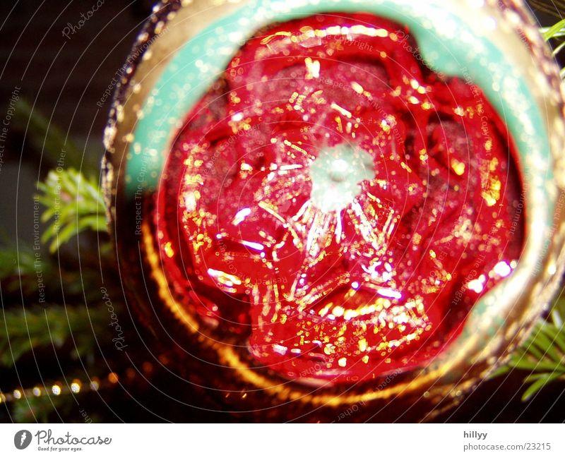Baumschmuck Weihnachten & Advent rot Häusliches Leben Kugel Weihnachtsdekoration