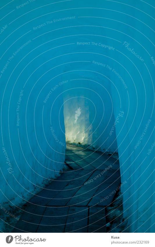 Natur Wasser blau schön Ferien & Urlaub & Reisen Winter Ferne kalt Umwelt Stimmung Eis nass Energie Klima Hoffnung Frost