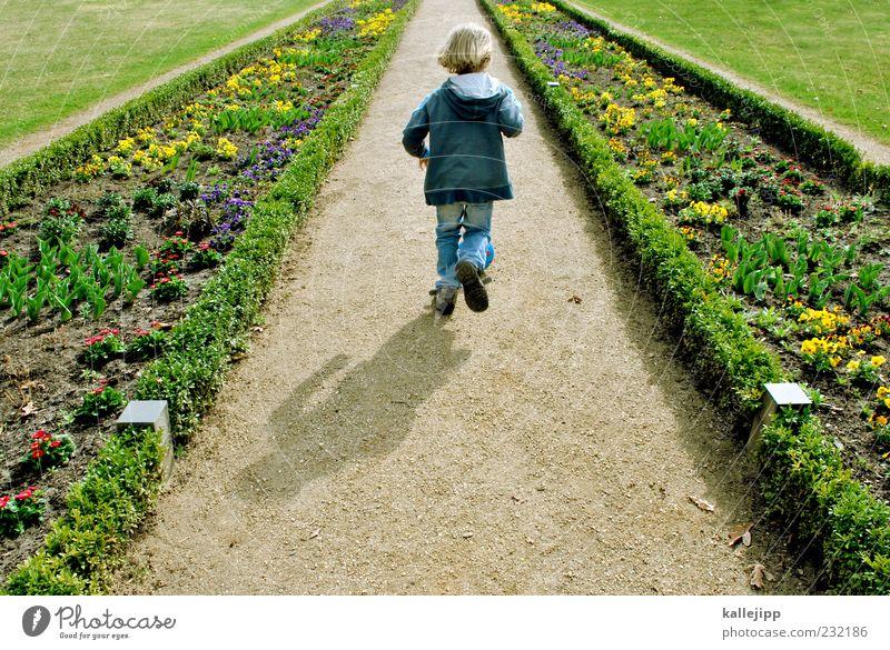 don´t stop me now Mensch Kind Natur Pflanze Blume Ferne Umwelt Wiese Leben Landschaft Junge Bewegung Wege & Pfade Glück Garten Frühling