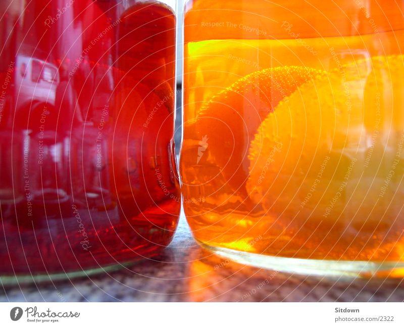 egg and water Wasser rot Farbe gelb Glas Dinge Ei Feste & Feiern