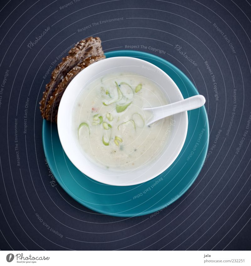 kokos-zitronengras-suppe Ernährung Lebensmittel Gesundheit Geschirr Appetit & Hunger Teller lecker Brot Bioprodukte Mittagessen Schalen & Schüsseln Suppe Löffel