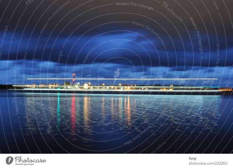 It's about time Himmel blau Wasser Meer Wolken Bewegung fahren Skyline Ostsee Schifffahrt Wasseroberfläche Nachthimmel schlechtes Wetter Gewitterwolken Jacht Fähre