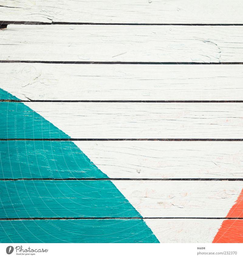 Farbbogen weiß Farbe Wand Holz Mauer Linie orange Hintergrundbild Fassade Streifen Vergänglichkeit Zeichen trocken Zaun Verfall türkis