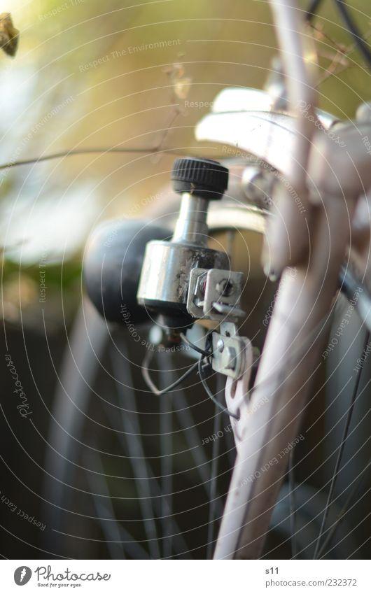 fahr Rad! Lifestyle Freizeit & Hobby Verkehrsmittel Straßenverkehr Fahrrad Stahl elegant rosa Dynamo Speichen Lampe Schutzblech Farbfoto Gedeckte Farben