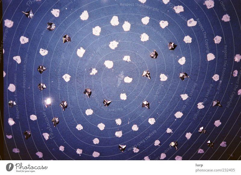 [Lomo] Falsche Sterne Himmel blau Wand außergewöhnlich silber Decke Nachthimmel Sternenhimmel Lomografie Metallfolie