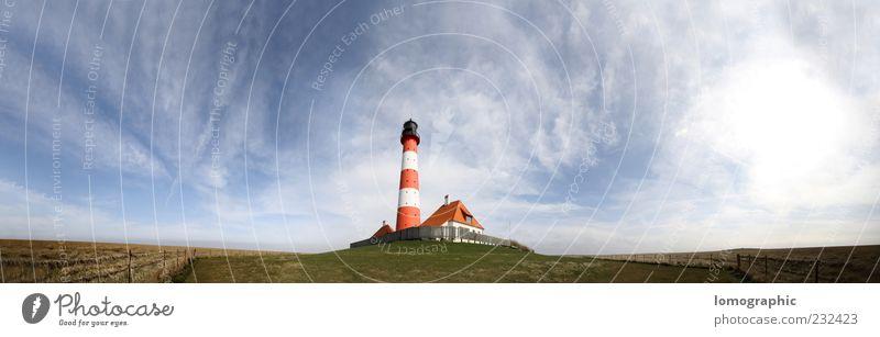Westerhever Sand Nordfriesland Umwelt Natur Landschaft Wasser Schönes Wetter Küste Strand Nordsee Stimmung Farbfoto Außenaufnahme Luftaufnahme Menschenleer
