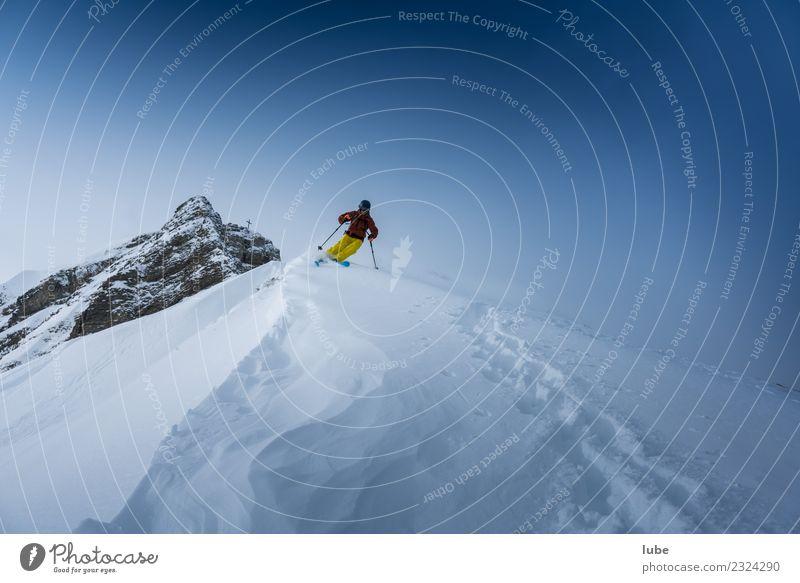 Freerider Freizeit & Hobby Ferien & Urlaub & Reisen Tourismus Abenteuer Winter Schnee Winterurlaub Berge u. Gebirge Sport Fitness Sport-Training Wintersport 1