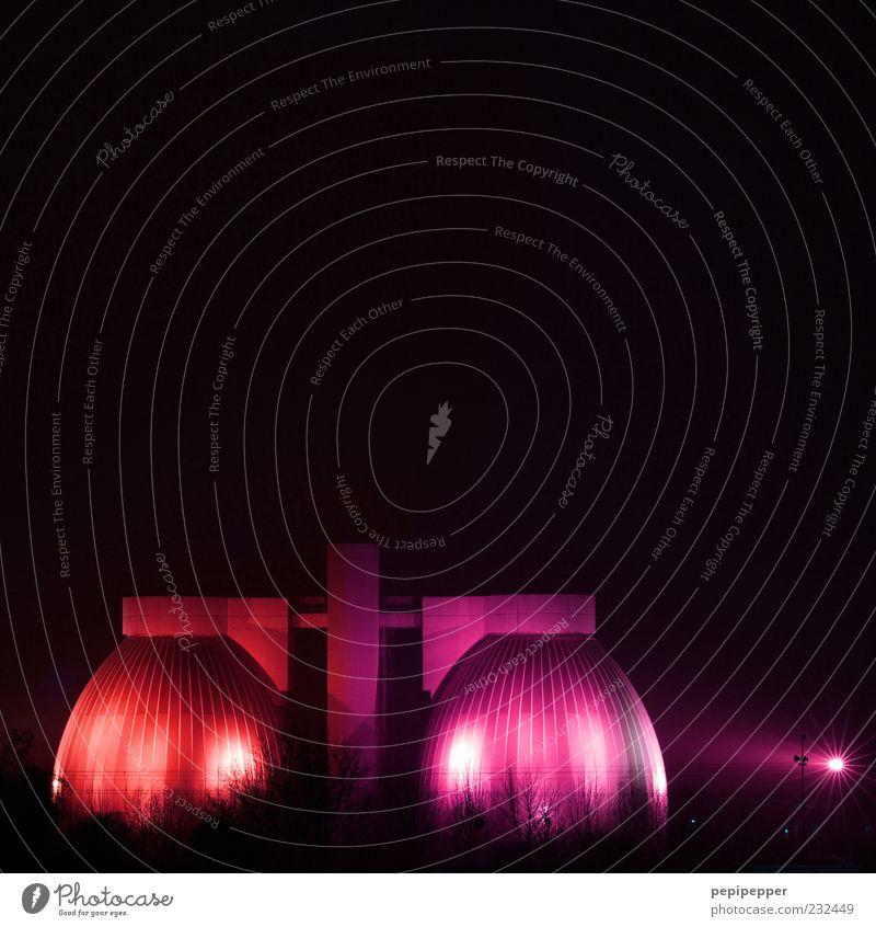 ostereier rot Farbe Gebäude Metall Kunst Architektur glänzend rosa Design groß Energie Fassade Industrie ästhetisch Technik & Technologie rund