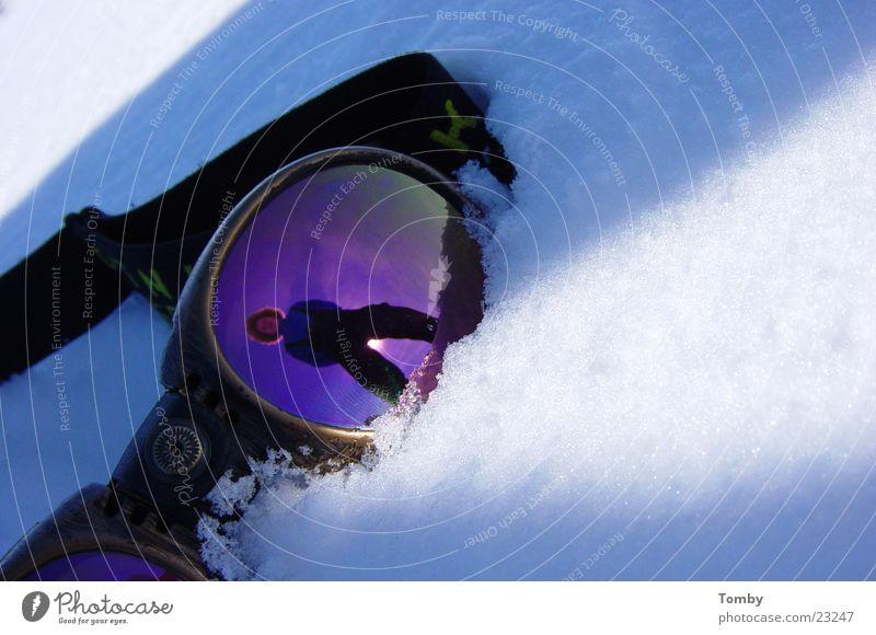 Brille Ferien & Urlaub & Reisen Winter Schnee Berge u. Gebirge Freizeit & Hobby Sonnenbrille Schneebrille