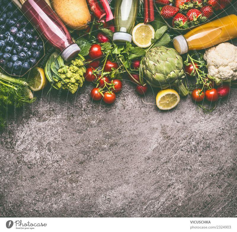 Gesunde antioxidative Smoothie Getränke Sommer Gesunde Ernährung gelb Gesundheit Hintergrundbild Stil Lebensmittel Design Frucht frisch Gemüse Bioprodukte