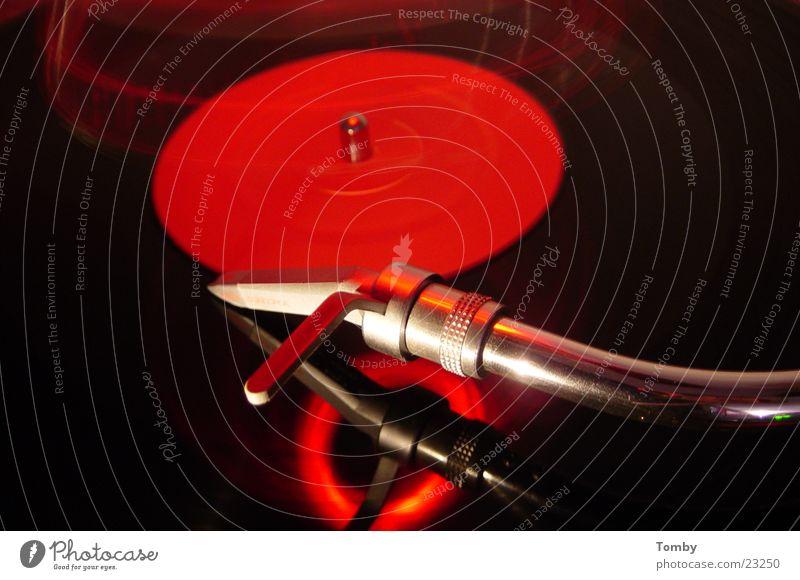 Plattendreher1210er Feste & Feiern Technik & Technologie Club Disco Ampel Diskjockey Schallplatte Tonabnehmer Laser Plattenteller Elektrisches Gerät