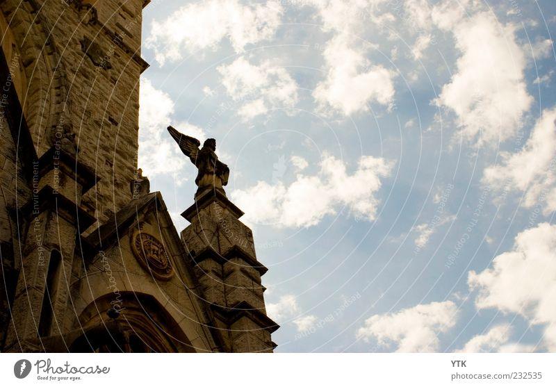Holy Heaven Himmel Wolken Architektur Stein Religion & Glaube Kunst authentisch Dekoration & Verzierung Kirche Engel Unendlichkeit fest Schönes Wetter Denkmal