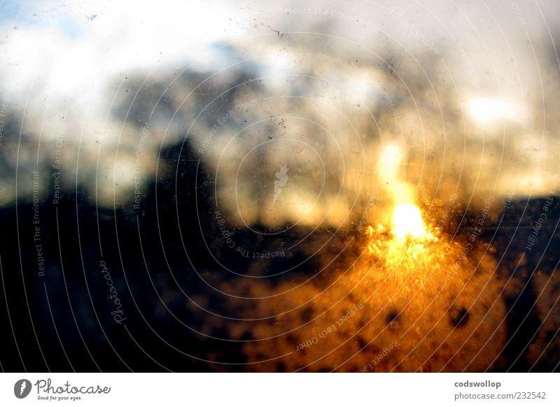 up at the crack of dawn Sonne Umwelt Wärme träumen Stimmung Horizont Brand Vorfreude schemenhaft Sonnenaufgang feurig
