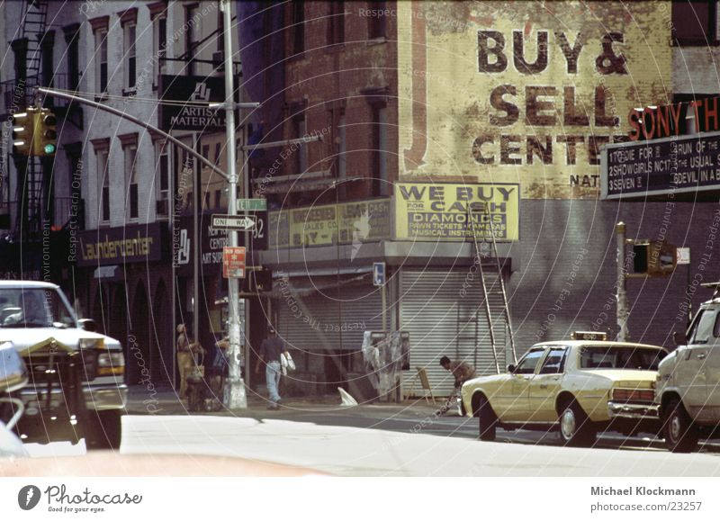 East 11th Street Straße New York City Kapitalismus Nordamerika