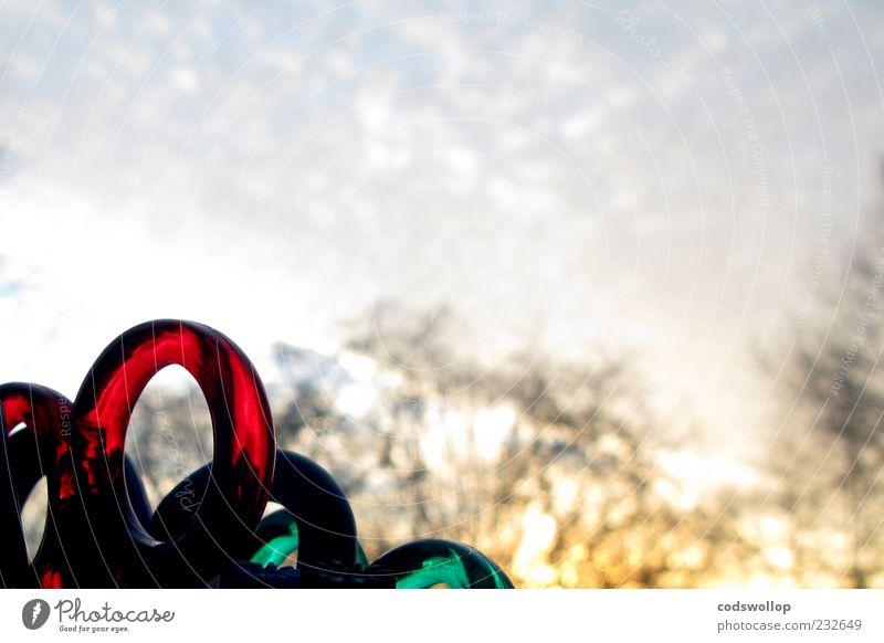 sky scissors Himmel grün rot außergewöhnlich Kunststoff Griff Schere Anschnitt