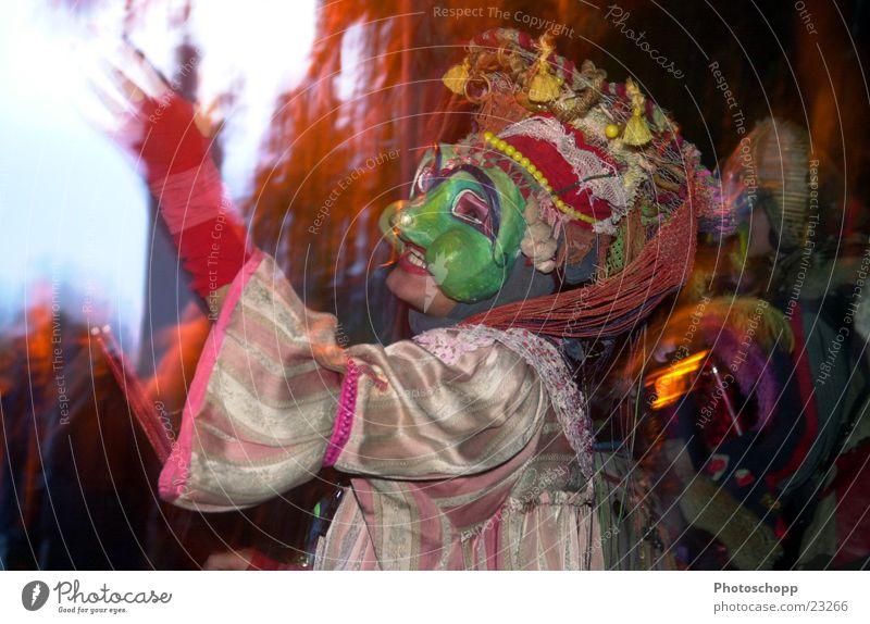 Verkleidung Langzeitbelichtung Dämmerung Ferne Freizeit & Hobby Maske Tele Karneval