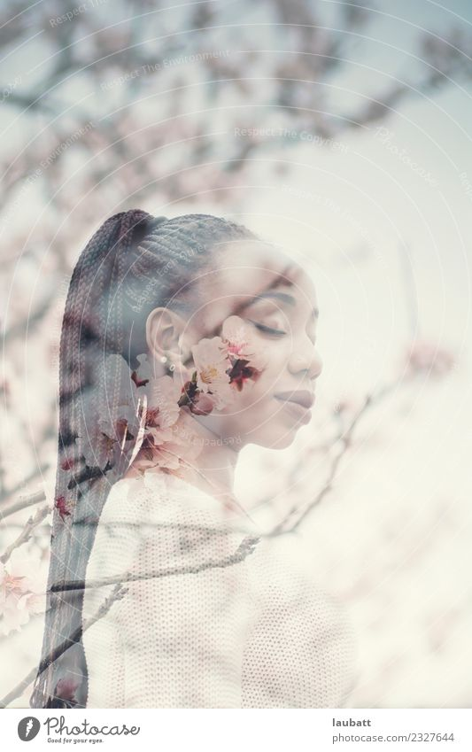 Jugendliche Junge Frau Religion & Glaube Lifestyle Stil Design Horizont elegant Idylle Hoffnung exotisch Inspiration innovativ