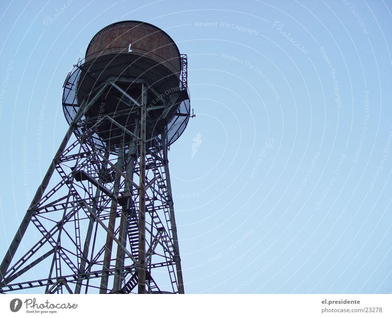 wasserturm Wasserturm Stahl Bochum Ruhrgebiet Industrie Turm Rost Himmel Perspektive