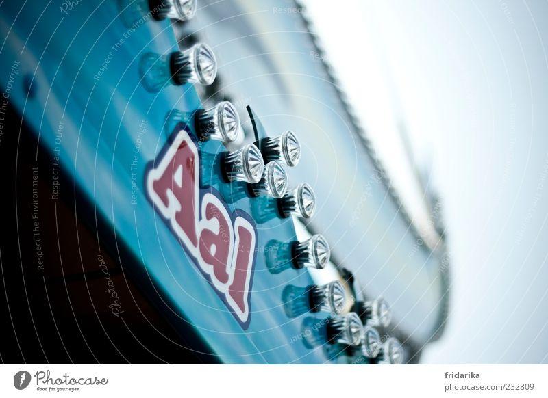mal aal Lebensmittel Fisch Aal Ernährung Dekoration & Verzierung Lampe Tier Glas Metall Kunststoff Zeichen Schriftzeichen Schutzschild fangen füttern kalt blau
