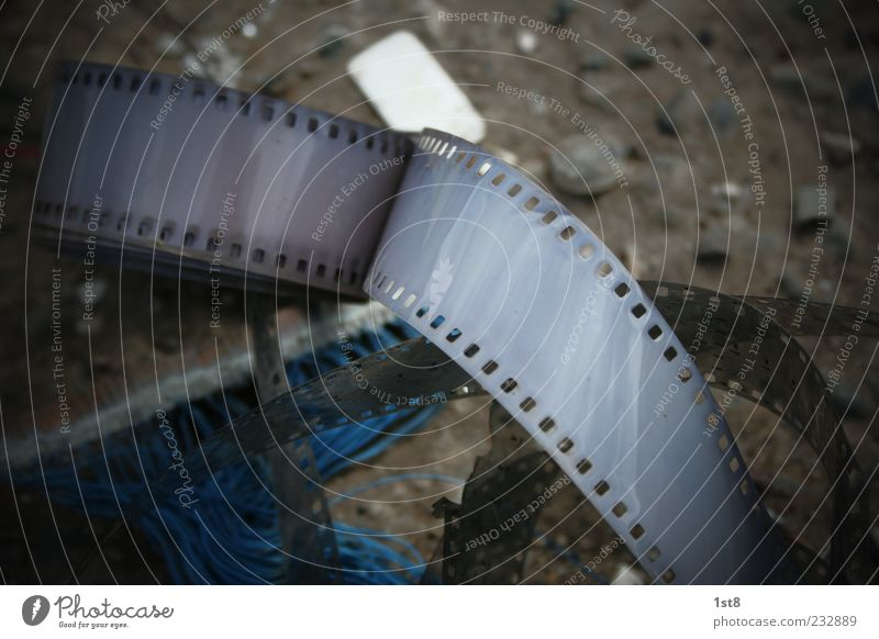 leicht ueberbelichtet alt schön Stil dreckig Design Zukunft kaputt Lifestyle Technik & Technologie Filmmaterial Müll bizarr Belichtung Fortschritt Schrott High-Tech