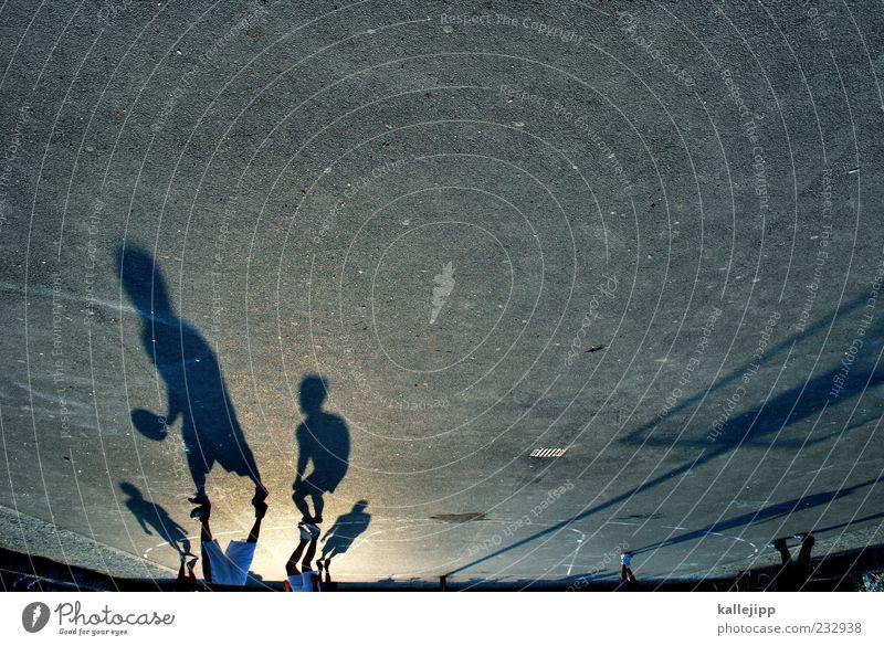 play off Mensch Mann Jugendliche Erwachsene Leben Sport Spielen Bewegung Menschengruppe Freundschaft Freizeit & Hobby laufen maskulin Platz planen Lifestyle