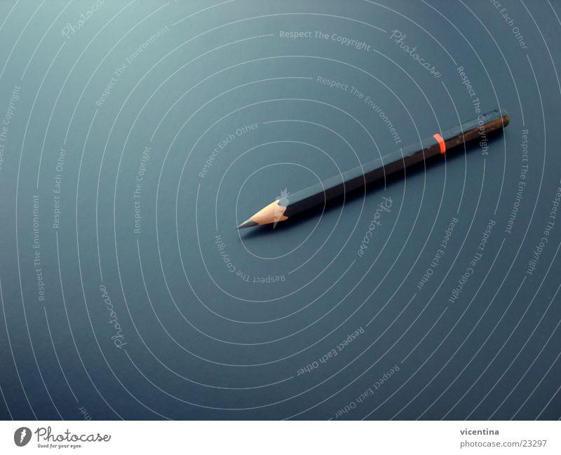 Bleistift ruhig schwarz Spitze Tisch Schreibtisch Schreibstift Bleistift