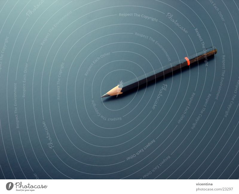 Bleistift Tisch Strukturen & Formen schwarz Schreibstift ruhig Spitze Schreibtisch