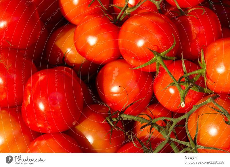 Gesunde Biotomaten Lebensmittel Gemüse Frucht Ernährung Essen Bioprodukte Vegetarische Ernährung Diät Fasten grün orange rot Gesundheit Tomate