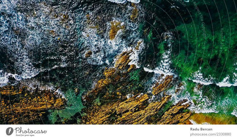 Natur Sommer schön grün Wasser Landschaft Meer Ferne Strand Umwelt außergewöhnlich Erde braun oben Felsen Wetter
