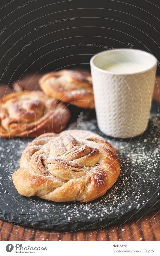 Zimtschnecke VI Lebensmittel Getreide Teigwaren Backwaren Croissant Kuchen Süßwaren Ernährung Essen Frühstück Kaffeetrinken Büffet Brunch Bioprodukte