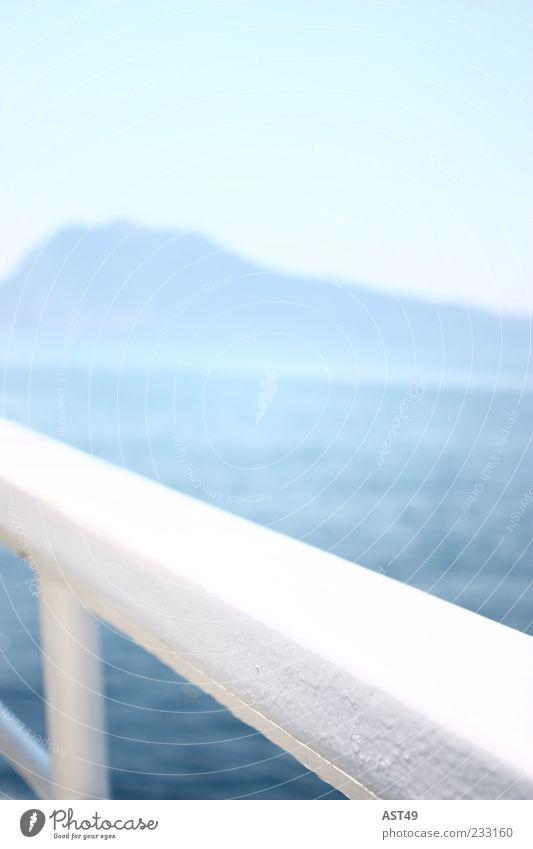ein Traum von einer Insel Natur schön Ferien & Urlaub & Reisen Meer Sommer ruhig Ferne Umwelt Berge u. Gebirge Freiheit Küste hell Ausflug Tourismus Geländer