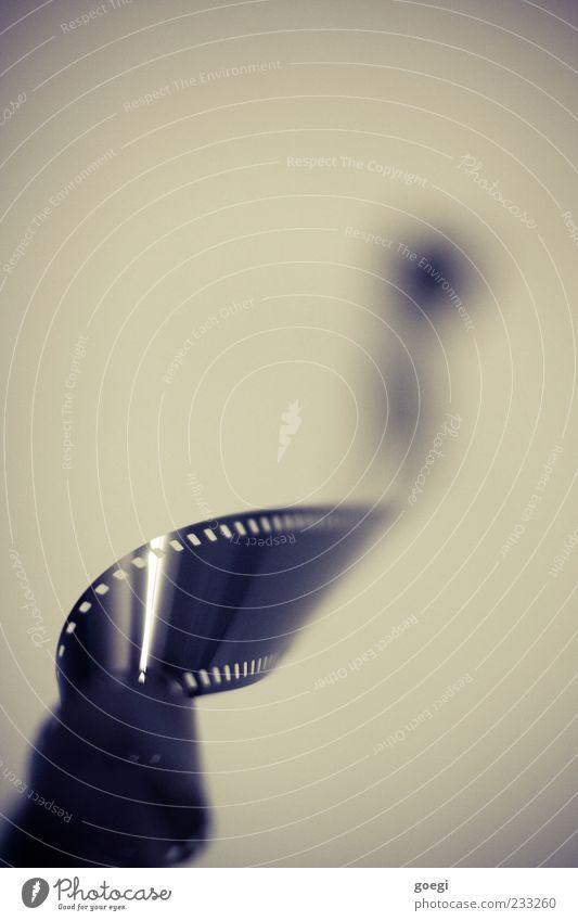 Wo soll das noch hinführen? Fotografie Filmindustrie Filmmaterial 35 Millimeter Film Kunststoff drehen verdreht Farbfoto Innenaufnahme Detailaufnahme