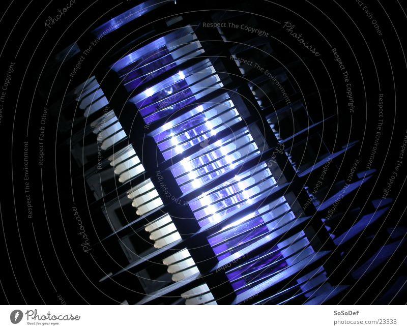 Lampe Häusliches Leben blauen Licht