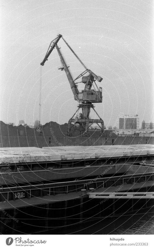 ohne titel Industrie Hafen Maschine bauen Industrieanlage Baumaschine Hafenkran