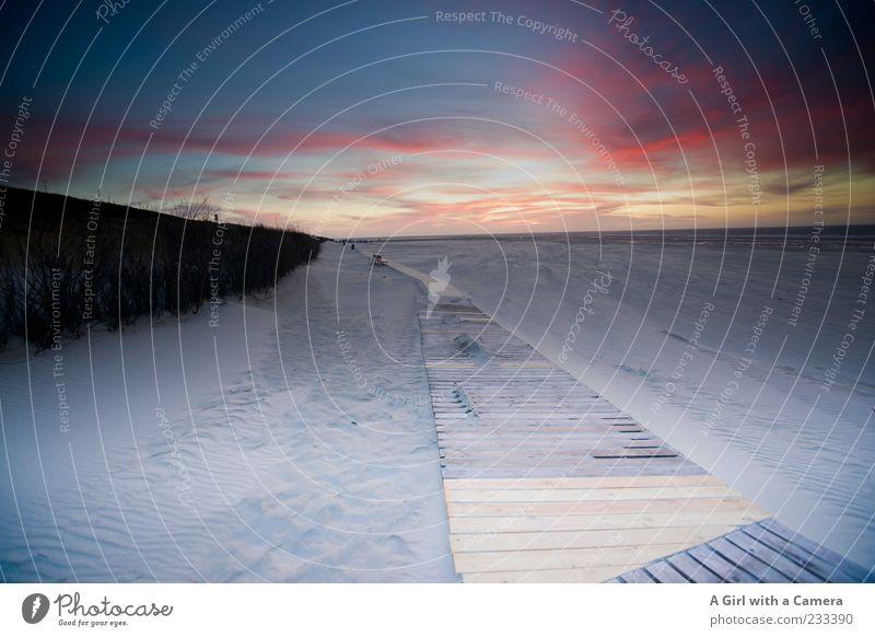 Spiekeroog l unendliche Weiten Umwelt Natur Landschaft Himmel Wolken Schönes Wetter Küste Strand Nordsee Meer Insel Sand Erholung außergewöhnlich fantastisch