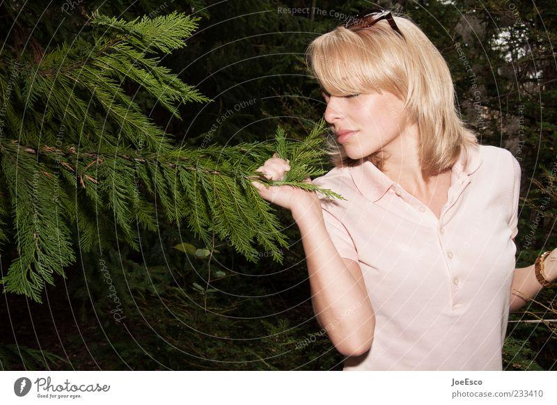 #233410 Mensch Frau Natur Jugendliche schön Baum Pflanze Erwachsene Erholung Leben träumen Zufriedenheit blond natürlich authentisch 18-30 Jahre