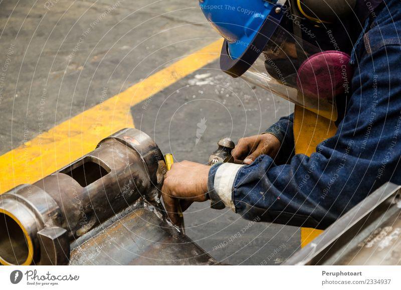 Schwermaschinenmechaniker/in Arbeit & Erwerbstätigkeit Beruf Industrie Business Maschine Motor Mann Erwachsene Fahrzeug Sicherheit Schutz asiatisch Konstruktion