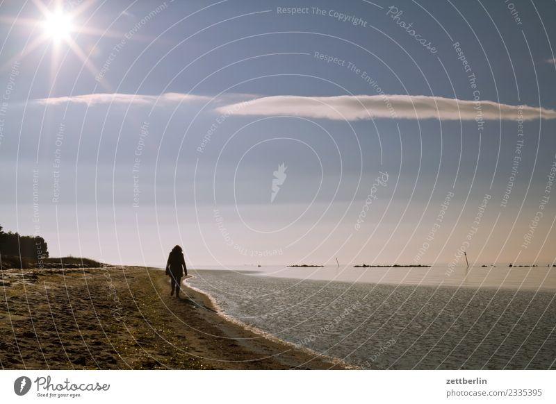 Sonne, Wolke, Südperd Erholung Ferien & Urlaub & Reisen Himmel Himmel (Jenseits) Menschenleer mönchgut Natur ruhig Rügen Strand Wolken Textfreiraum Nebensaison