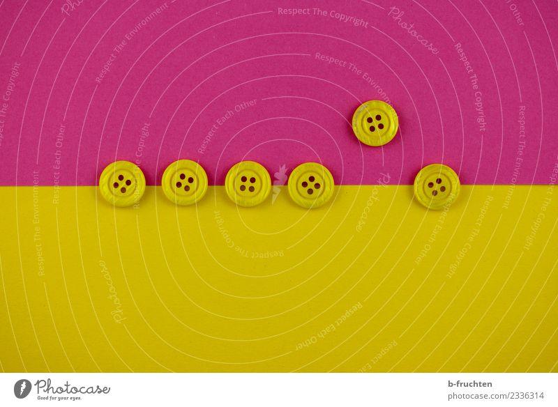 Aus der Reihe tanzen Team gelb rosa Ordnungsliebe Genauigkeit Zufriedenheit gleich Horizont Identität einzigartig Selbstständigkeit Konflikt & Streit Teamwork
