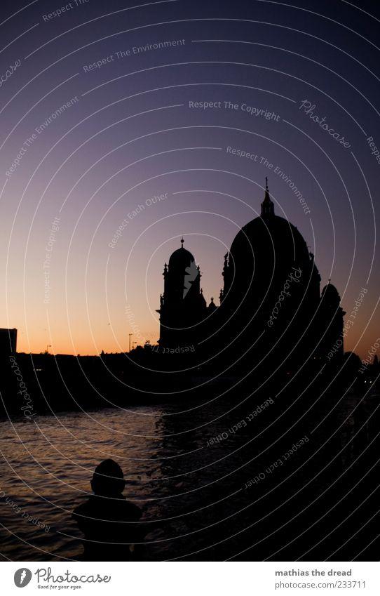 DOM Himmel Wasser Stadt schön Sommer Haus ruhig Architektur Religion & Glaube Gebäude Park Horizont Fassade Kirche Brücke Turm