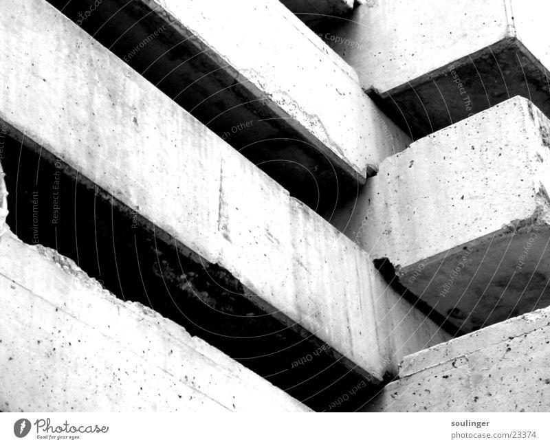 concrete junjle Architektur Beton Baustelle Zoomeffekt