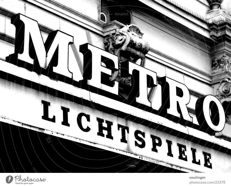 lichtspiele Filmindustrie Freizeit & Hobby U-Bahn Kino Wien Monochrom Zoomeffekt