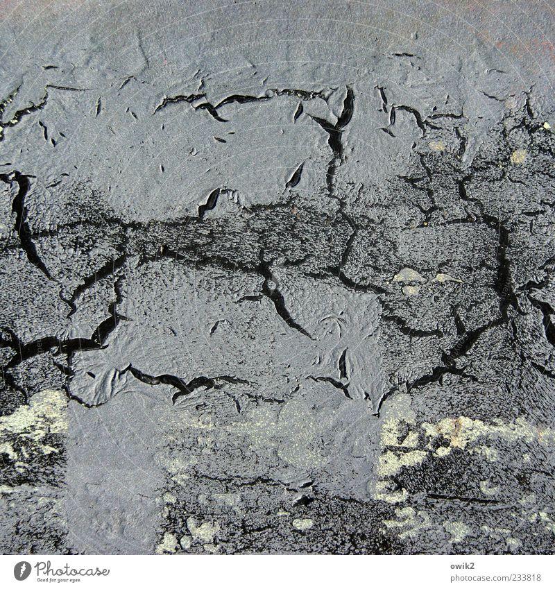 Vergesslichkeit alt weiß schwarz grau Metall Hintergrundbild dreckig kaputt Wandel & Veränderung einzigartig Vergänglichkeit einfach Kunststoff nah Flüssigkeit