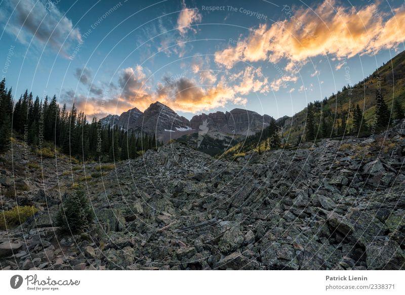 Maroon-Snowmass Wilderness in Colorado Zufriedenheit Sinnesorgane Erholung ruhig Ferien & Urlaub & Reisen Ausflug Abenteuer Ferne Freiheit Berge u. Gebirge
